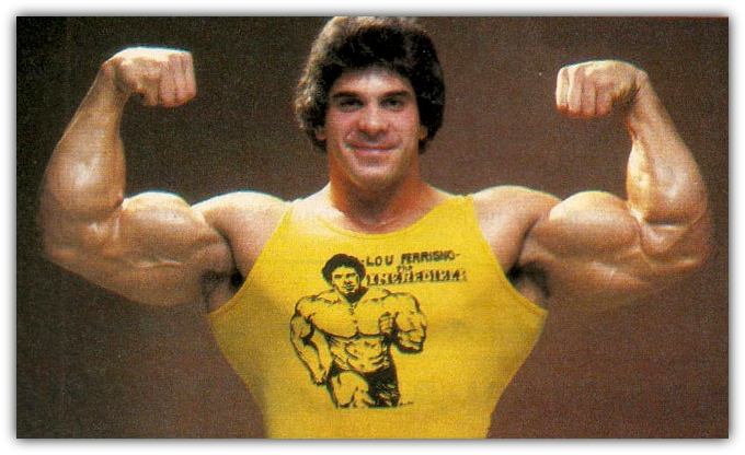Lou Ferrigno Biceps