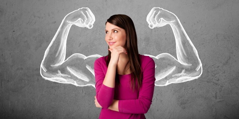 Can lifting heavy weights make you muscular? NO. Women simply don't naturally possess enough of the male hormone, testosterone that will allow them to become huge muscular hulks! Hence weight training will NOT to make you a bodybuilder unless you tried so hard to be muscular.