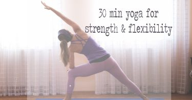 30 Min Vinyasa Yoga for Strength & Flexibility