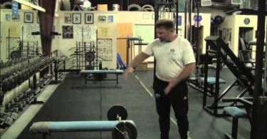 Lying Triceps Extension with Mark Rippetoe