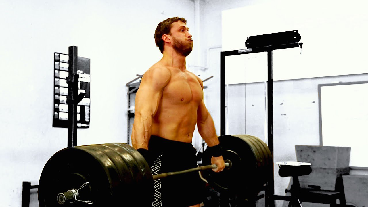 Strength Icon Dmitry Klokov demonstrates Weightlifting ...